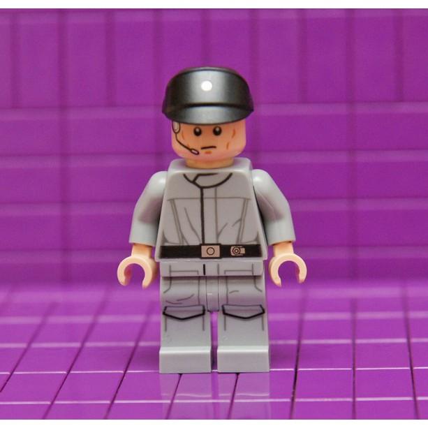 [樂高星戰系列人偶]75134裡的Imperial Officer_sw693