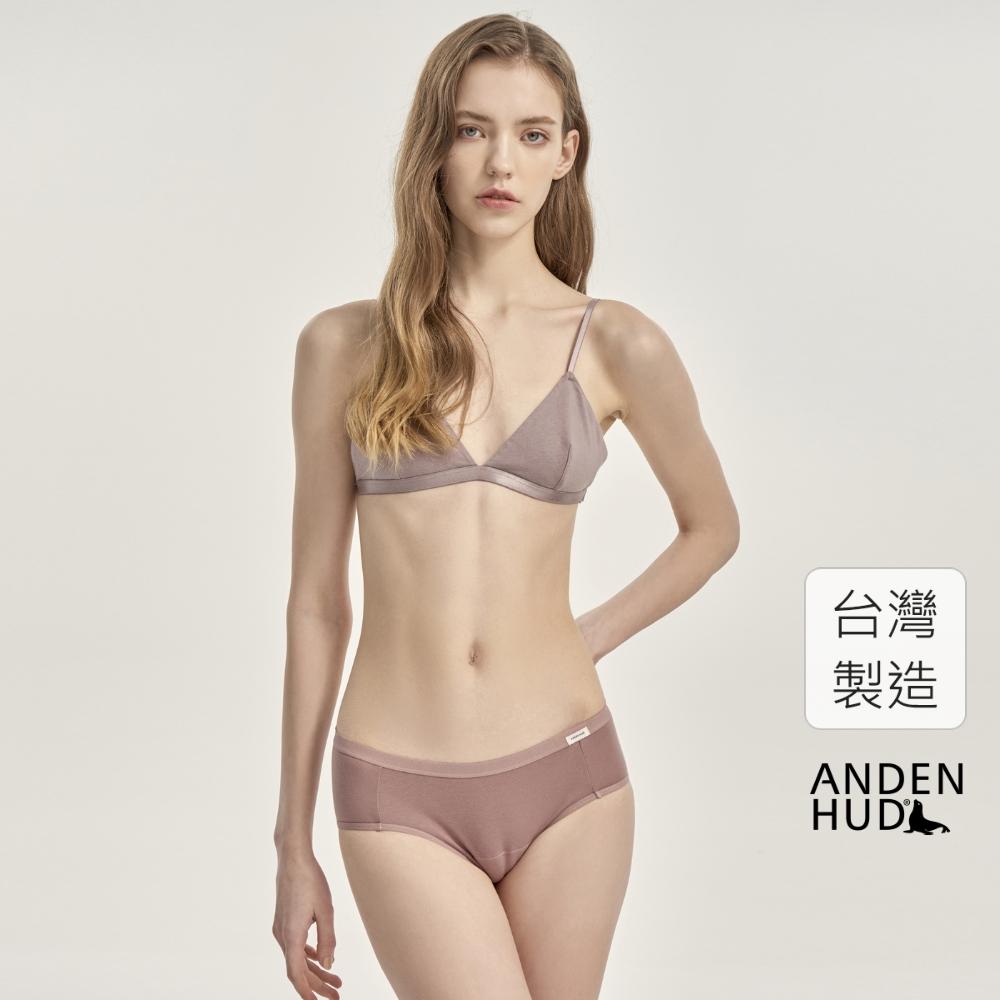 【Anden Hud】超熟睡.中腰生理褲(芍藥粉) 台灣製