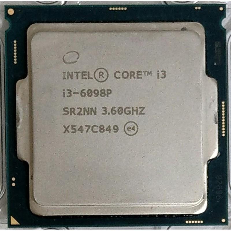 Intel core 六代/七代 i3-6098P 6100 6300 7100 CPU (1151 腳位) 附風扇