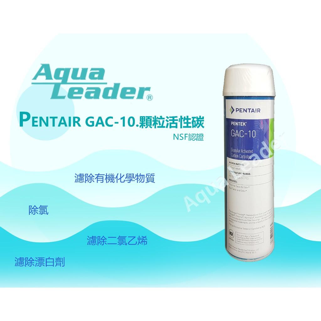【富洺淨水】10英吋 PENTEK GAC-10 椰殼活性碳濾芯