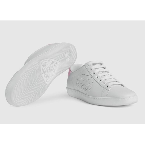 全新GUCCI Ace Interlocking G 運動鞋 休閒鞋 款号598527 AYO70 9076