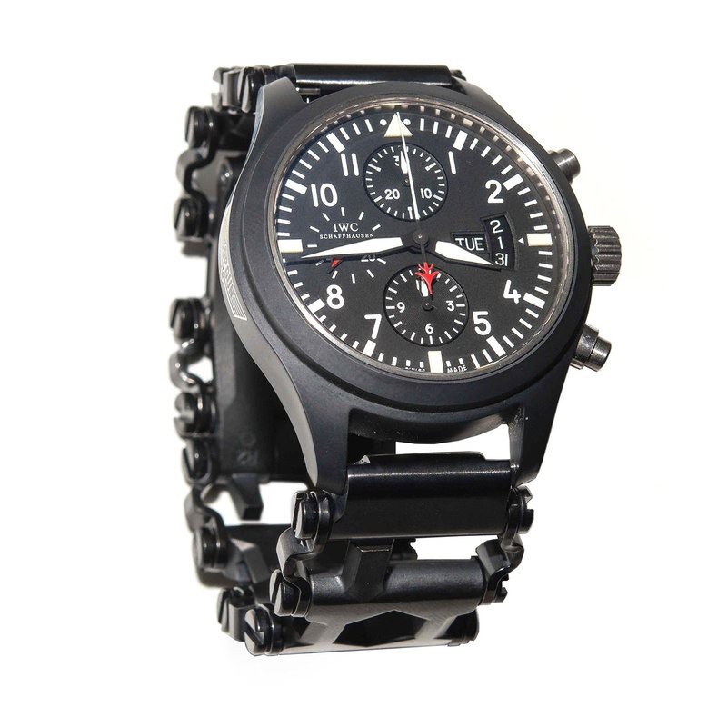 【預購】全新Leatherman Tread版及LT窄版專用手錶連接環一對非原廠(黑色DLC版)