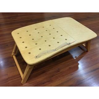 **二手**折疊桌 床上小書桌子 實木 電腦桌 懶人桌 折合桌 餐桌 書桌 學習寫字桌 宿舍神器 吃飯桌 新北市
