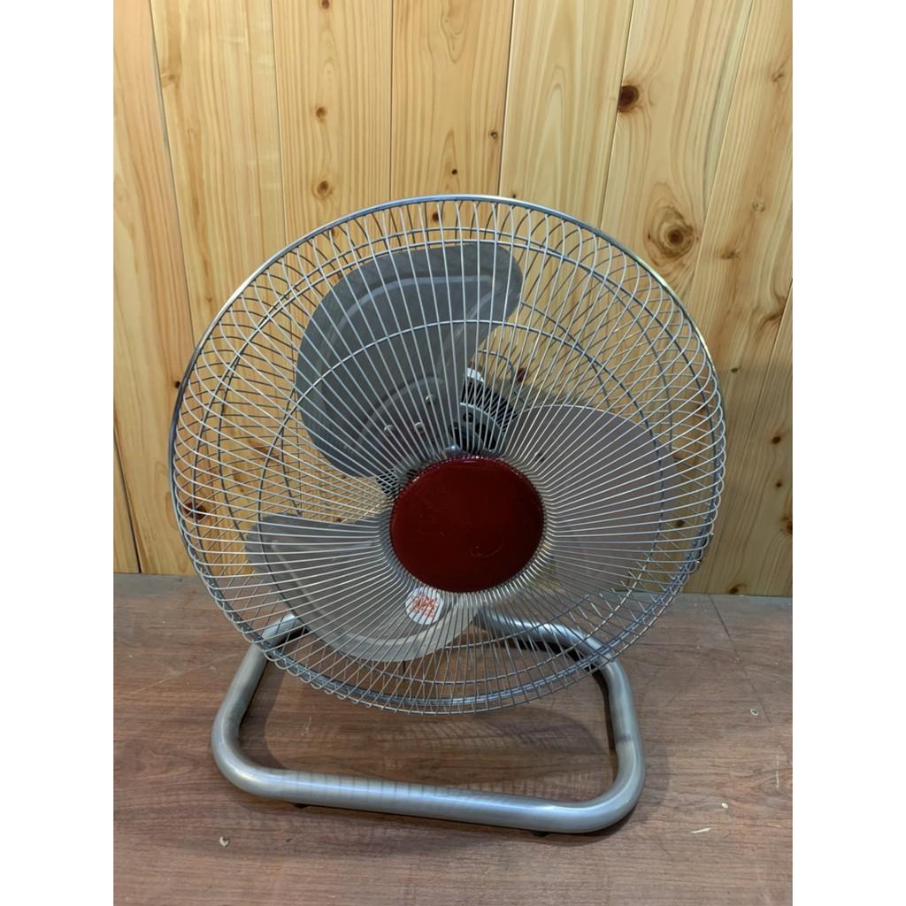 金牛牌TH-1421 14吋 強力型工業扇 電風扇 落地扇 鋁葉桌扇 夏日必備A4631【晶選二手傢俱】