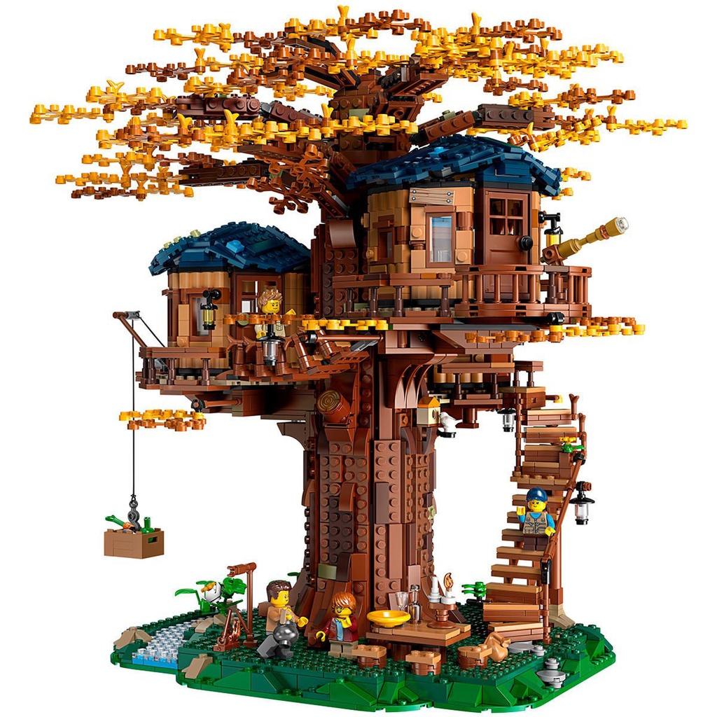 限時下殺 【正品保障】樂高(LEGO)積木Ideas系列拼裝禮物玩具21318樹屋 現貨現貨 1Glu