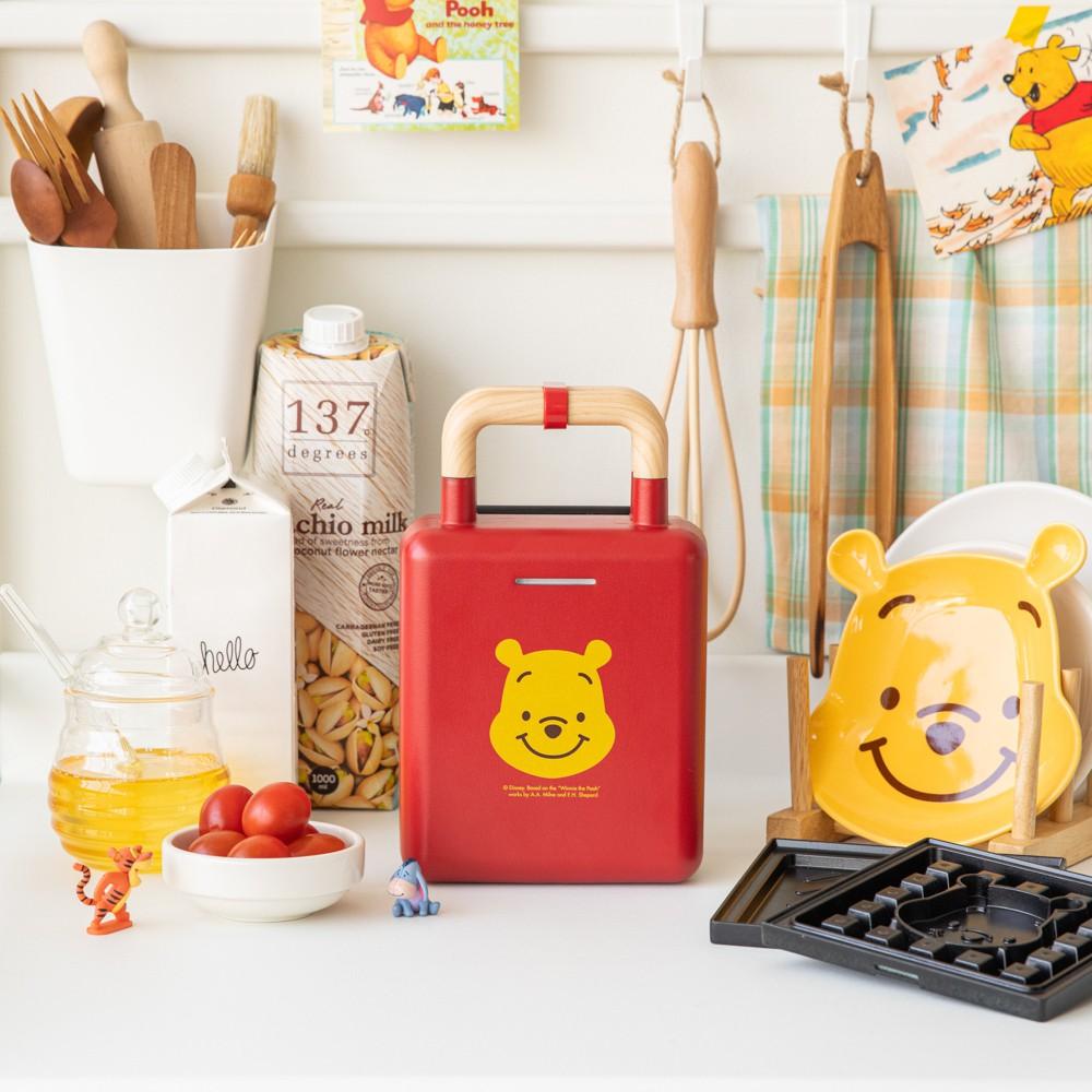[murmursis]韓國代購🇰🇷 小熊維尼熱壓三明治鬆餅機/DISNEY迪士尼/吐司機/麵包機/小家電/點心機|預購