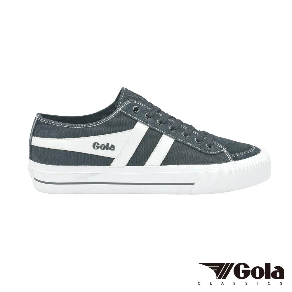 Gola Quota III 男帆布鞋 GLCMB050GX 石墨/白
