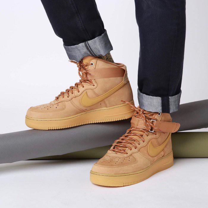 Nike Air Force 1 High 07 LV8 小麥色 麂皮 厚底 CJ9178-200 男鞋