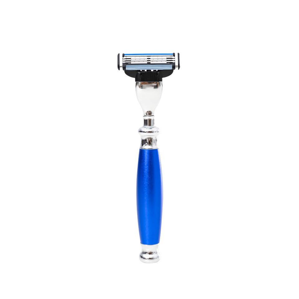 【FREED】三刀式刮鬍刀 - 時尚藍
