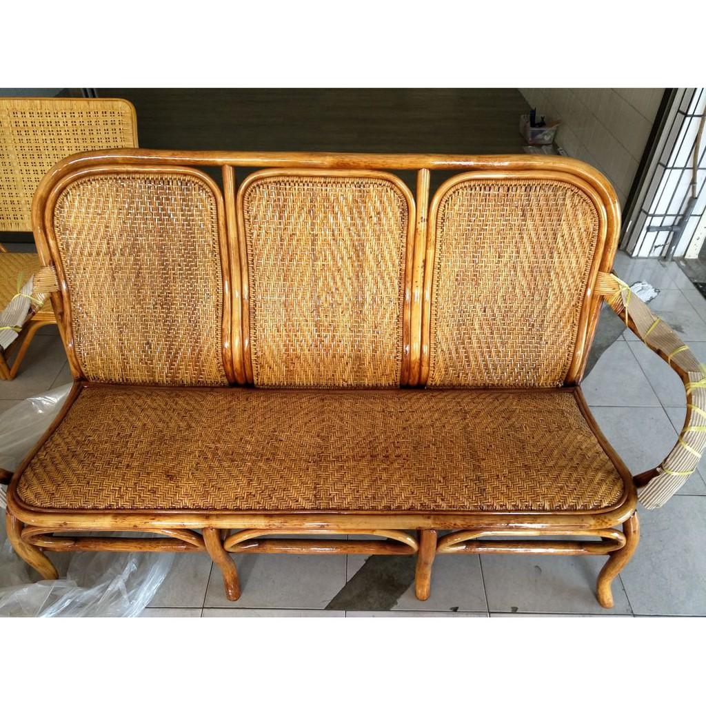 實體店面-手工藤椅-吉利三人座籐椅-來店自取特價