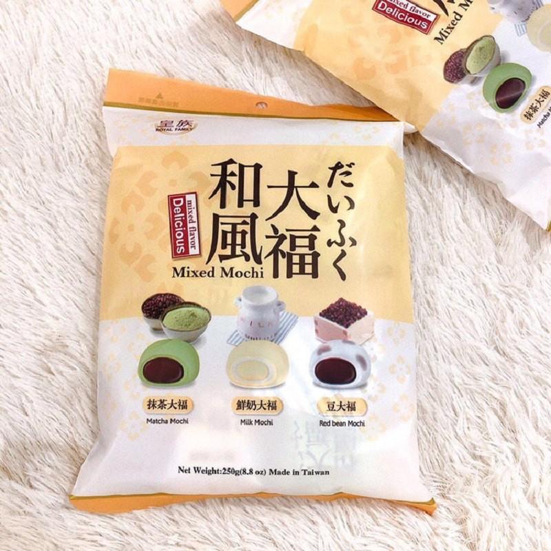 皇族大福大包裝和風大福三種口味綜合包