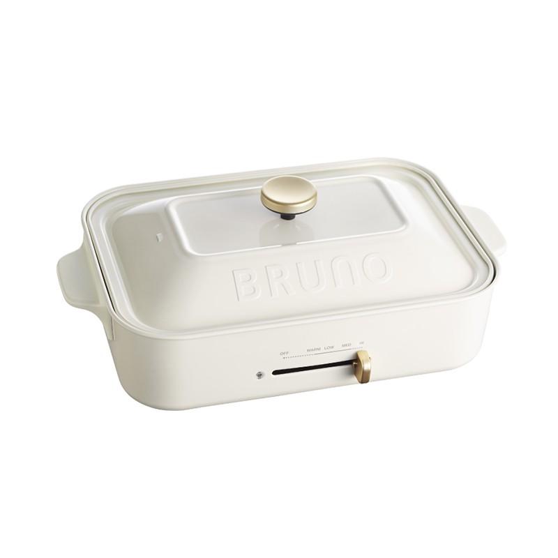 【BRUNO】多功能鑄鐵電烤盤 章魚燒烤盤-紅/白 BOE021-RD BOE021-WH