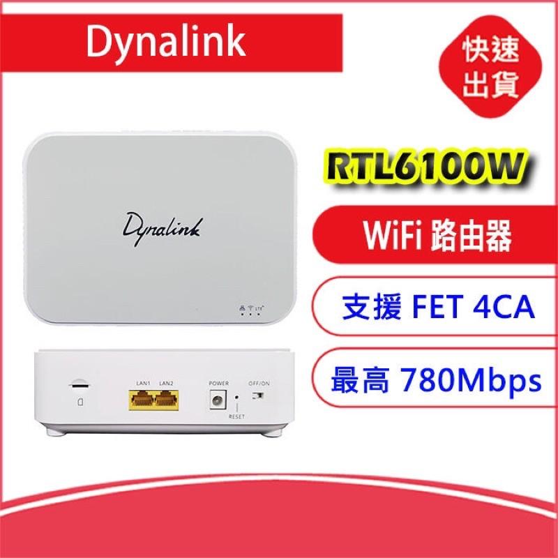 4CA Dynalink RTL6100W 4G LTE SIM卡 WiFi分享器無線網卡路由器另售B818