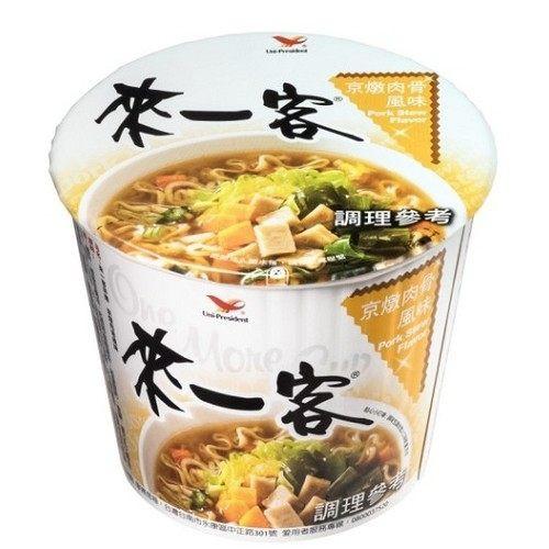 統一 來一客杯麵京燉肉骨風味 3入 台灣泡麵 統一泡麵 來一客