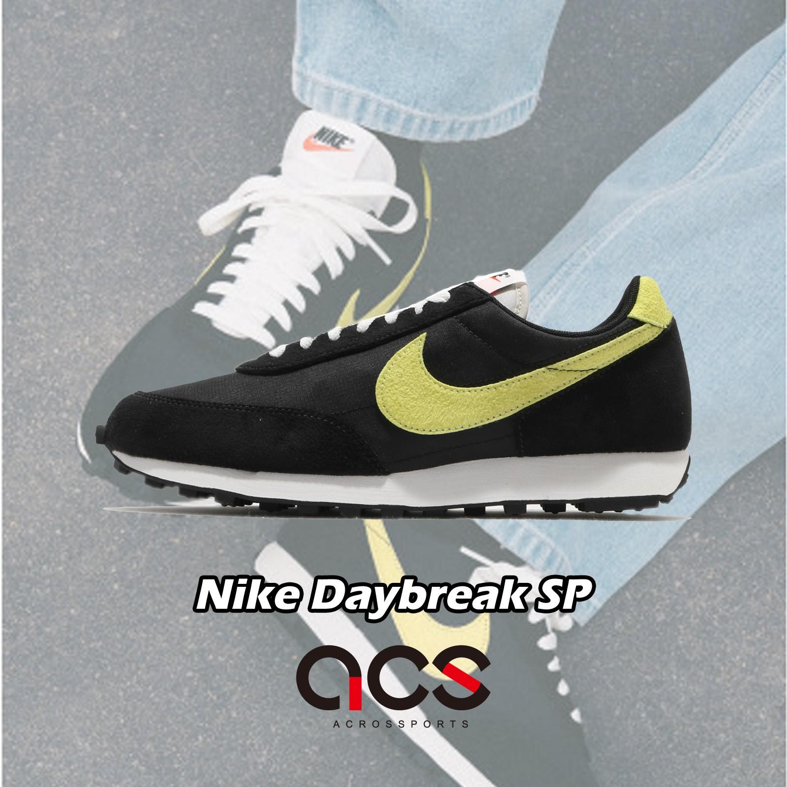 Nike 休閒鞋 Dbreak SP 黑 黃 男鞋 復古 Daybreak 麂皮【ACS】 DA0824-001