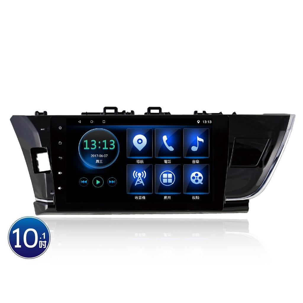 (小鳥的店)豐田 2014-17 ALTIS 影音10吋專用機 JHY 音響主機 R3 安卓 互聯 導航 11代