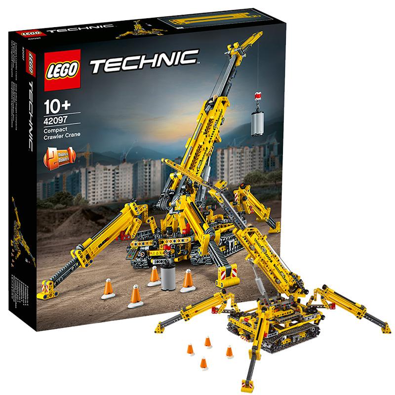 【郵寄春風玩具店】新品樂高機械科技組大吊車履帶起重機吊塔42097 LEGO男孩積木玩具