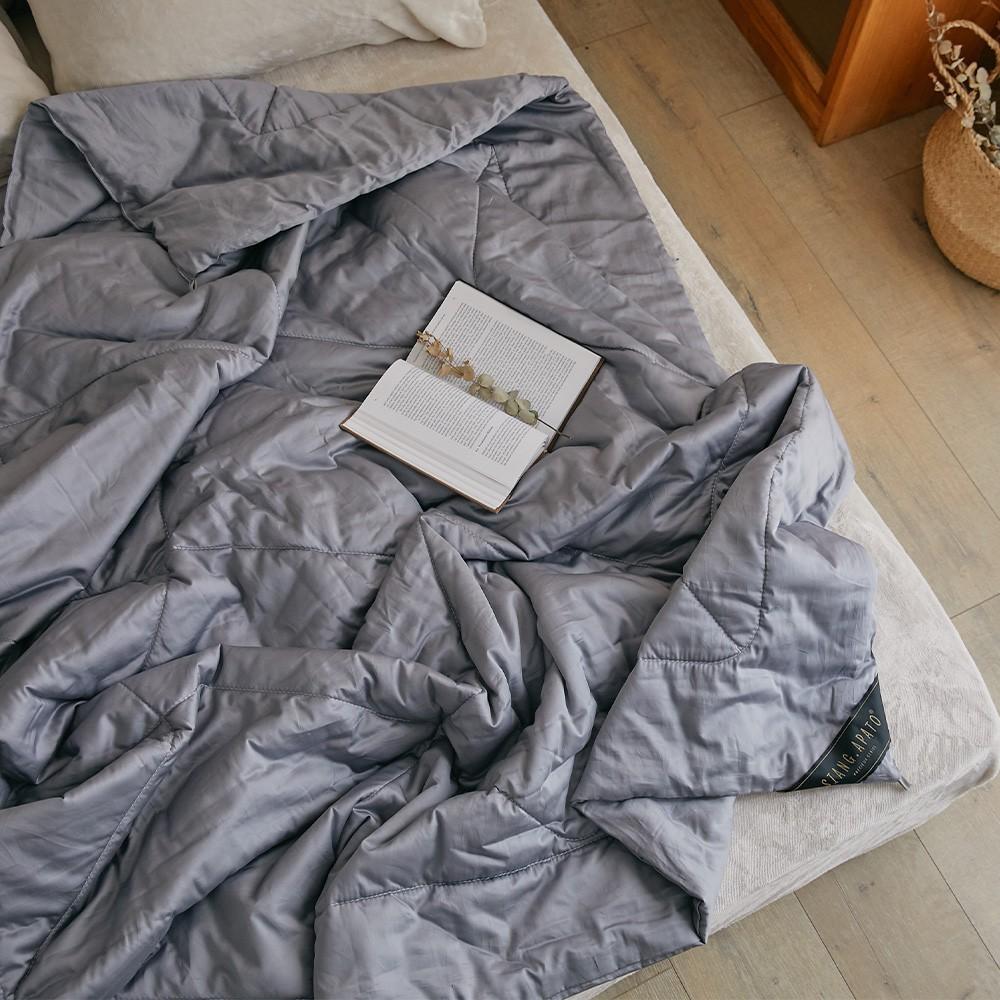 翔仔居家 石墨烯溫感晚安被【雙人款】1.5kg填充 冬季棉被 厚被 保暖被 被子