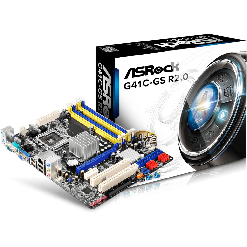 ASROCK 華擎 G41C-GS R2.0 主機板 775腳位