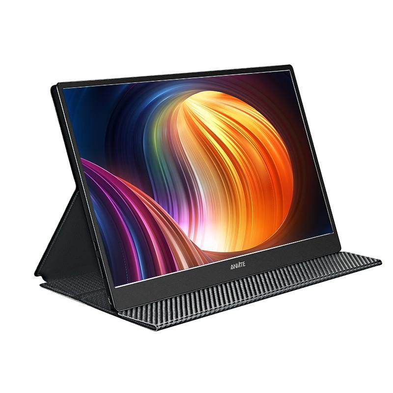 安美特AN-156W04K 15.6吋便攜式電腦螢幕 4K高清IPS顯示屏hdmi USB TYPE-C