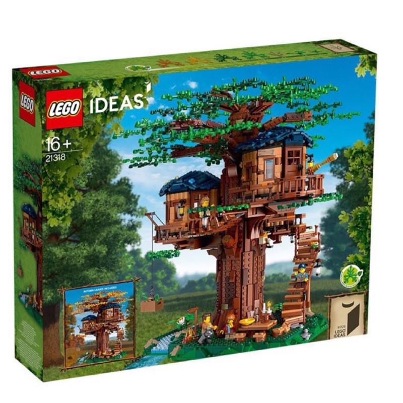 臺灣爆款優選:️ Lego 21318 樹屋 未拆HKSK