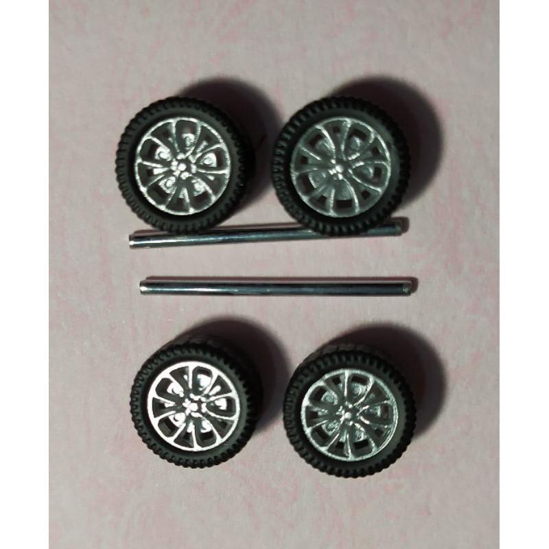 全新,100%現貨~ 1/64 改裝輪胎 - 款式5