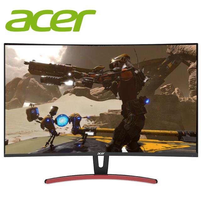 Acer 宏碁 ED323QUR A 31.5吋 螢幕顯示器 2K 曲面 電競 144Hz 展示機 出清福利品
