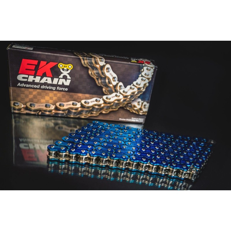 EK 525 SRX2 電鍍藍(非RK DID)