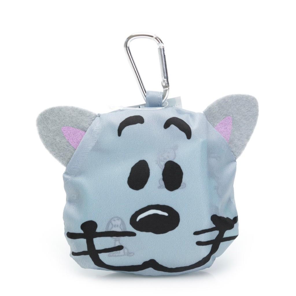 大頭收納 掛勾式環保購物袋 史努比 法羅恩 玩具總動員 愛護地球【hello_japan】
