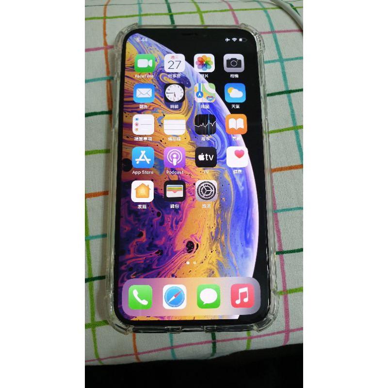 Apple iPhone Xs 64G 5.8吋 銀色 Face ID 二手手機 無線充電 智慧型手機 ix i11