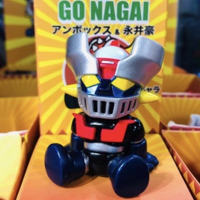 現貨 1隻 異色版 鍍色 無敵鐵金剛 Nagai x Unbox 永井豪 阿強 蓋特3 鋼鐵克連 大魔神
