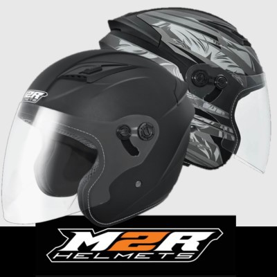 【M2R原廠】M2R J7 原廠出貨 大頭圍適用 3/4罩 安全帽 半罩 四分之三 3XL