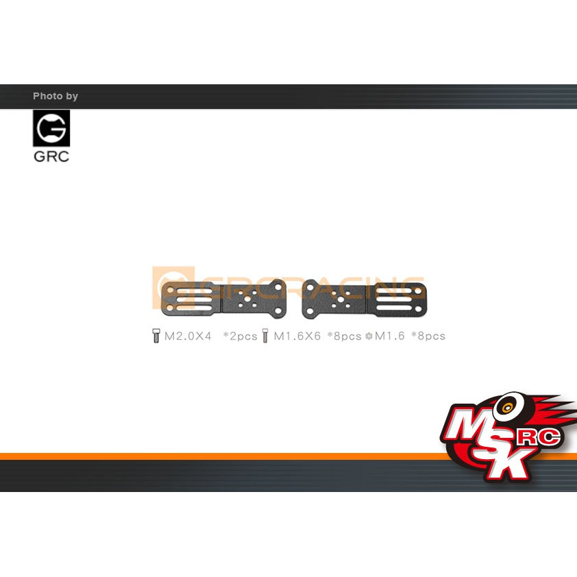 ~MSK RC~ GRC改裝1/10牧馬人機蓋專用射燈支架/ SCX10三代(G157CT)