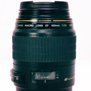 公司貨 Canon EF 100mm F2.8 Macro USM 定焦鏡頭 微距鏡 全片幅 附保護鏡 台北市