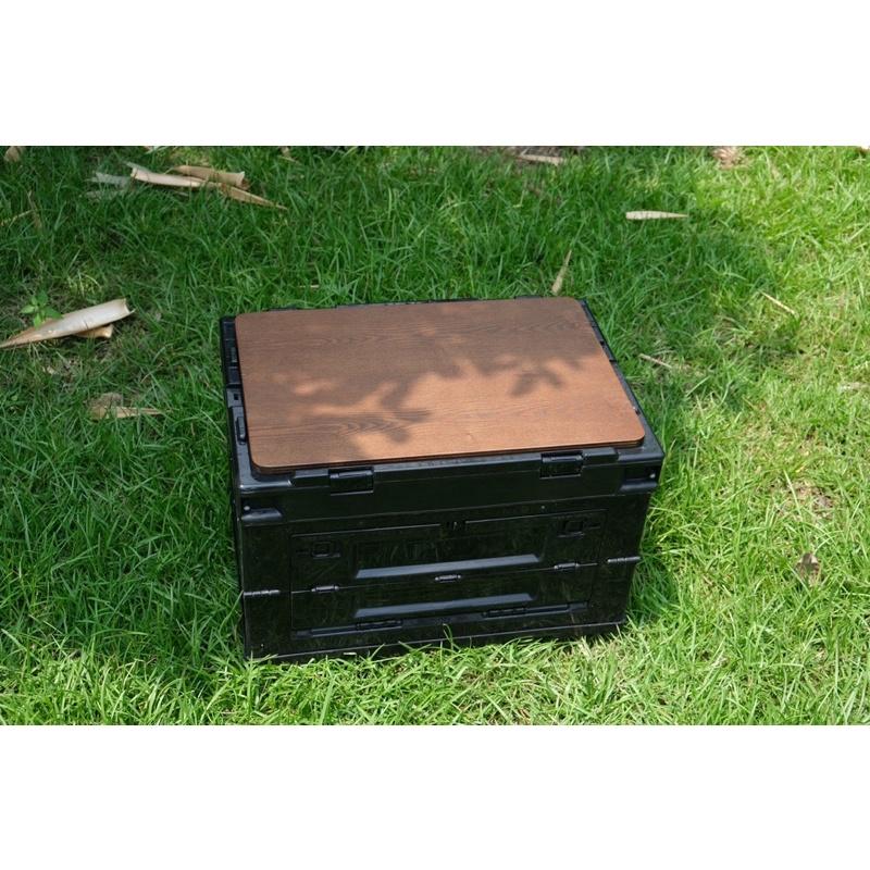 軍事風箱 側開式摺疊收納箱 摺疊收納箱 專用黑黑板 露營美學 居家生活 Filter017