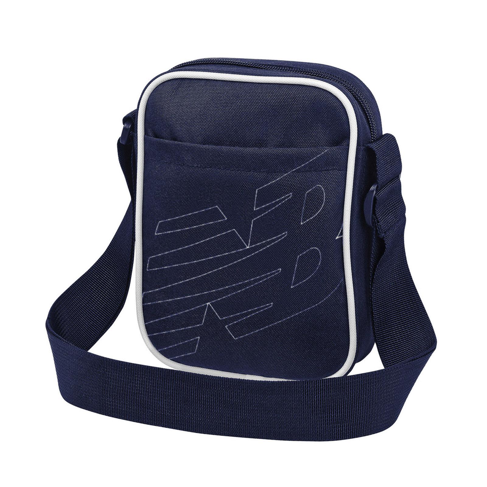 New Balance 斜背包 Classic Crossbody Bag 藍 隨身小包【ACS】LAB93008TNV