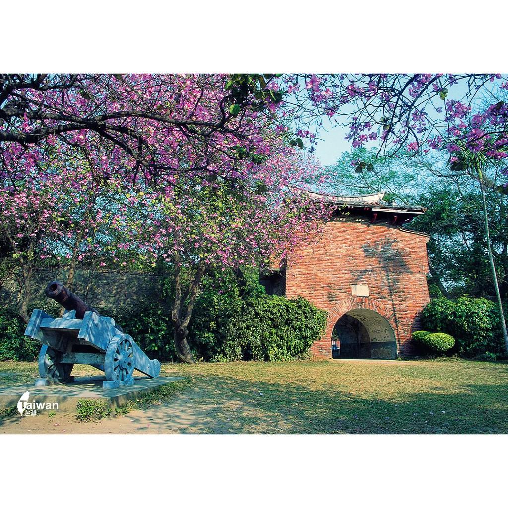 明信片 單張-台南舊城之小西門