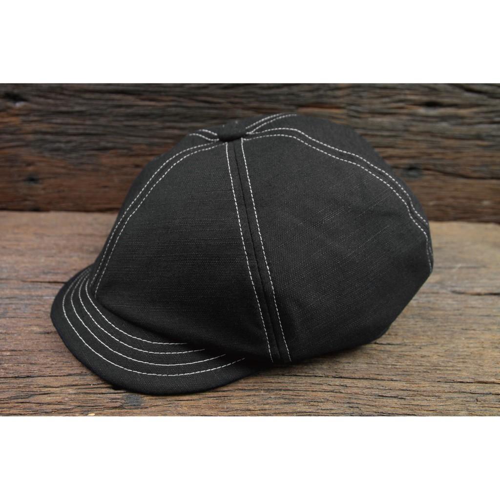 【METALIZE直營網路門市】棉麻復古報童帽