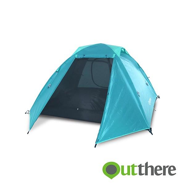 Outthere好野 輕營4人帳 LiteBase4 -青色-輕露營 環島旅行《台南悠活運動家》