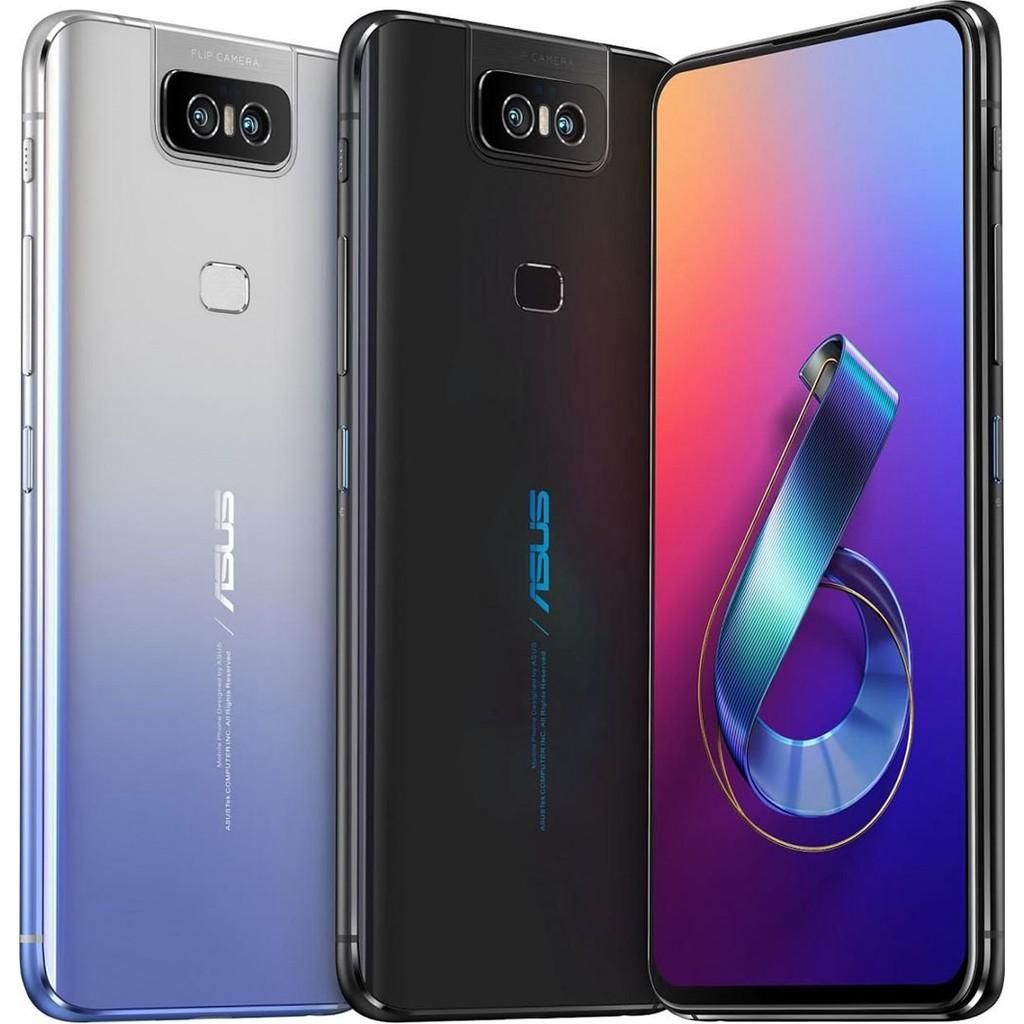 "【Asus華碩】Zenfone 6 (ZS630KL) 6.4"" 6GB + 128GB- 銀/黑 智慧型手機 福利機"