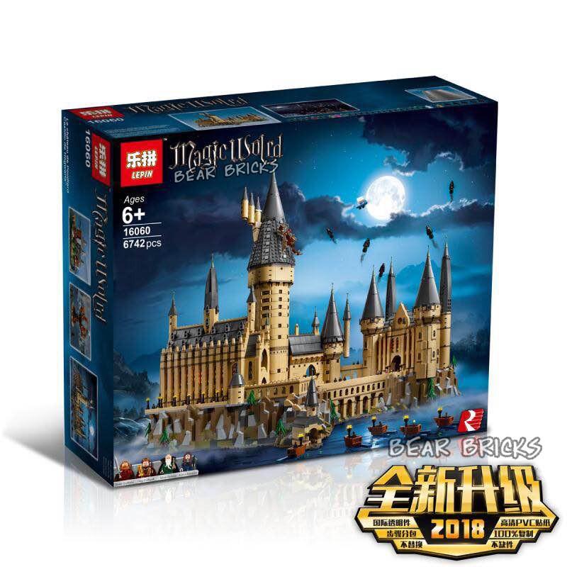 【限量現貨】同款它牌  哈利波特 霍格沃茲城堡  Lego71043 樂拼16060【熊熊玩積木】
