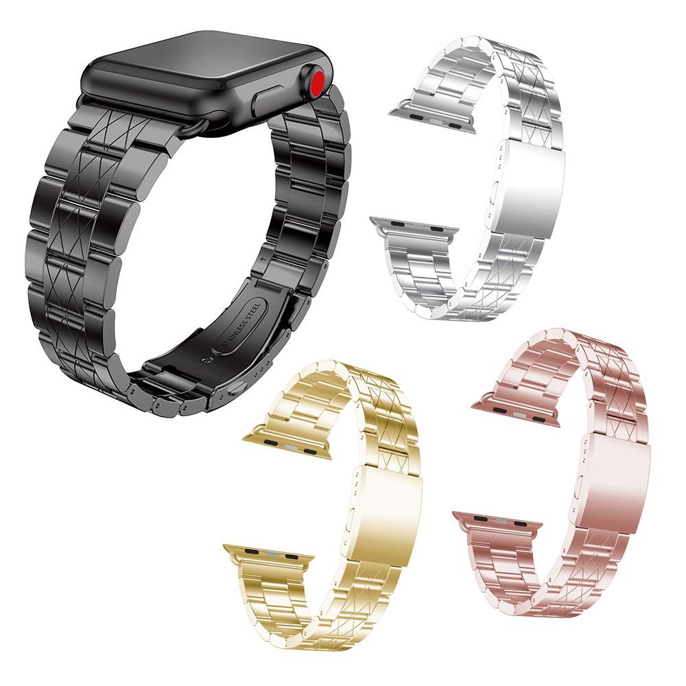 Apple Watch Series 3 / 2 / 1 錶帶 42mm / 38mm 不銹鋼手腕手鍊表扣