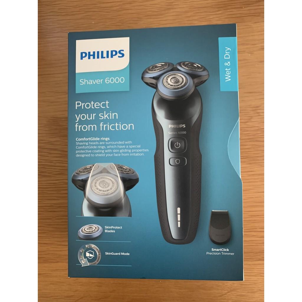 (EZ家電)(全新+荷蘭製)飛利浦 PHILIPS S5600 S5203 乾濕兩用 三刀頭 電動刮鬍刀 電鬍刀