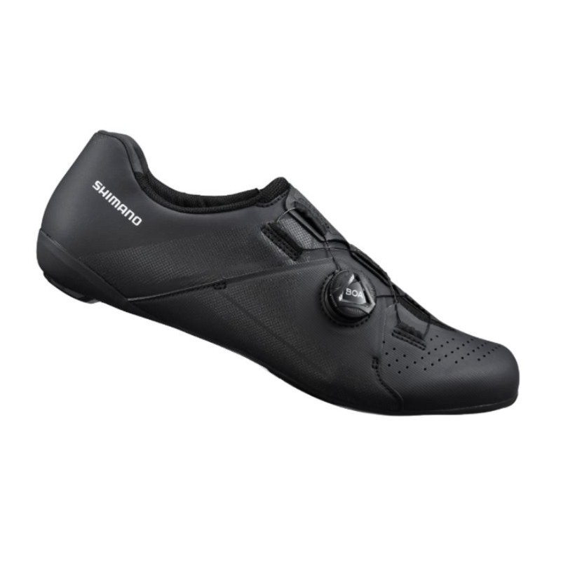 SHIMANO RC3 男性基本款公路車卡鞋(黑)【7號公園自行車】
