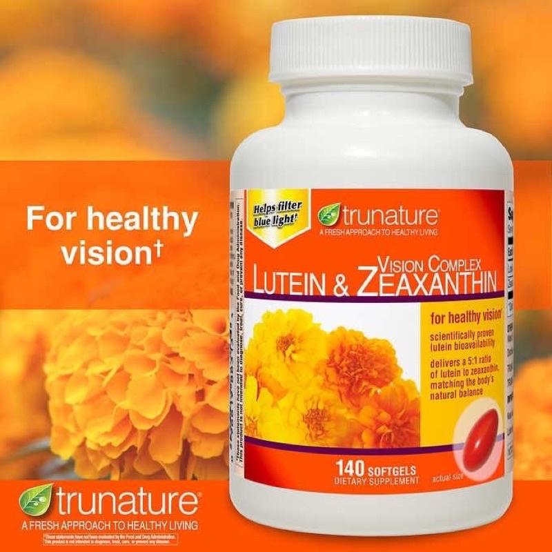 美國Trunature Lutein 葉黃素 好市多2020新版小顆粒 140顆入