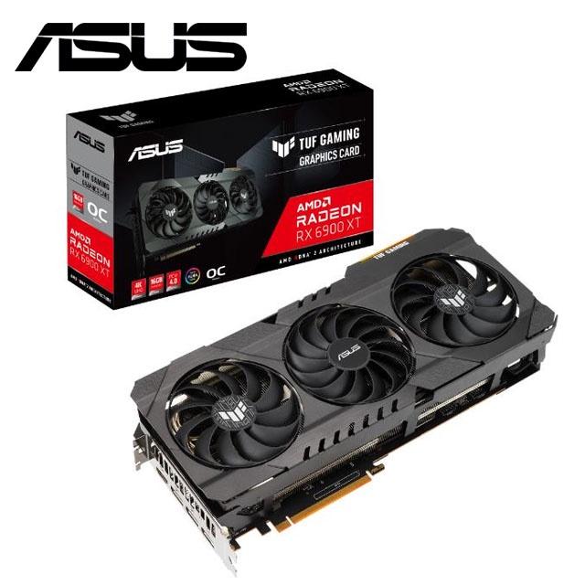 [桃園區實體店面] ASUS TUF GAMING Radeon™ RX 6900 XT 顯示卡效能強悍。 註冊四年保