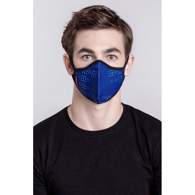 預購|MEO Lite 獨立濾芯抗流感口罩-藍色|1個口罩本體+5個濾芯