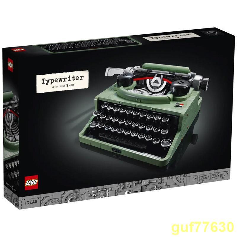 『現貨熱賣』  【正品保障】樂高(LEGO)積木ideas系列21327打字機男女孩拼插玩具【7月12日發完】