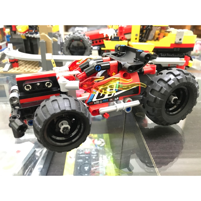 LEGO 42073 科技系列 猛攻 BASH 迴力車