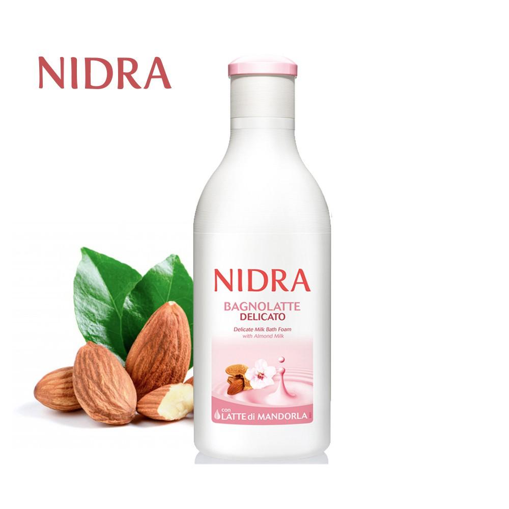 【NIDRA 妮德雅】極致呵護牛奶蛋白 潤膚沐浴乳 750ml (杏仁奶/溫和細緻)
